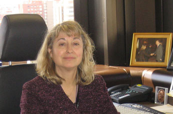A doutora Carmen Andrade galardonada co premio Whitney