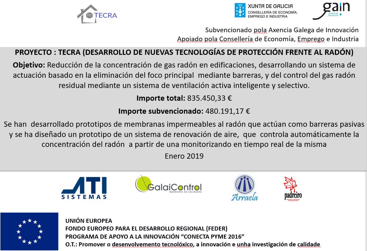 Presentación del Protecto TECRA